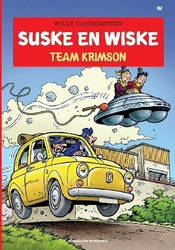 SUSKE EN WISKE 352. TEAM KRIMSON ( DE BLANKE BERGEN )