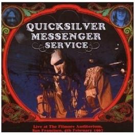 FILLMORE AUDITORIUM, 1967 .. SAN FRANCISCO 1967 Audio CD, QUICKSILVER MESSENGER SER, CD