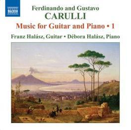 MUSIC FOR GUITAR & PIANO HALASZ, F & D Audio CD, CARULLI, F. & G., CD
