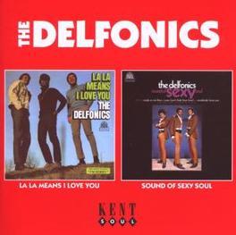LA LA MEAN I LOVE YOU/SOU ..SOUND OF SEXY SOUL, 2 ON 1, 1968 & 1974 ALBUMS Audio CD, DELFONICS, CD