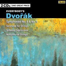 EVERYBODY'S CLASSICS ROTTERDAM CHAMBER ORCHESTRA/CINCINNATI S.O. Audio CD, A. DVORAK, CD