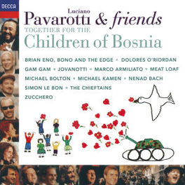 TOGETHER FOR THE CHILDREN ..OF BOSNIA WBRIAN ENO, BONO, MEATLOAF, JOVANOTTI Audio CD, PAVAROTTI & FRIENDS, CD