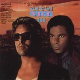 MIAMI VICE 3 MUSIC BY JAN HAMMER,SHEENA EASTON,JAMES BROWN,STRAY CAT Audio CD, OST, CD