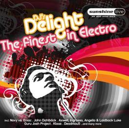 DJ'S DELIGHT:FINEST IN.. .. TECHNO W/DJ ANTOINE/SPACEKID/NIELS VAN GOGH/FABI O Audio CD, V/A, CD