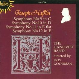 SYMPHONIES NO.9-12 HANOVER BAND/ROY GOODMAN Audio CD, J. HAYDN, CD