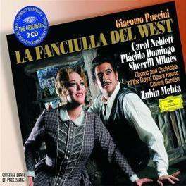 LA FANCIULLA DEL... W/ROYAL OPERA HOUSE/MEHTA/NEBLETT, DOMINGO, MILNES Audio CD, G. PUCCINI, CD