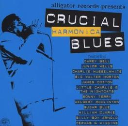 CRUCIAL HARMONICA BLUES Audio CD, V/A, CD