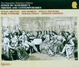 SONGS BY SCHUBERT'S FRIEN W/GRITTON, MURRAY, DOUFEXIS, FINLEY, JOHNSON Audio CD, V/A, CD