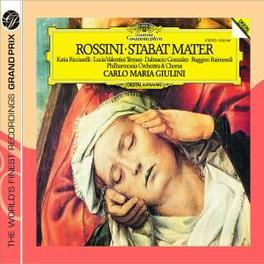 STABAT MATER RICCIARELLI/RAIMONDI/VALENTINI/GIULINI Audio CD, G. ROSSINI, CD