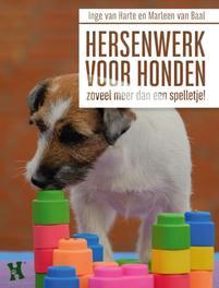 Hersenwerk voor honden. zoveel meer dan een spelletje, Van Harte, Inge, Hardcover