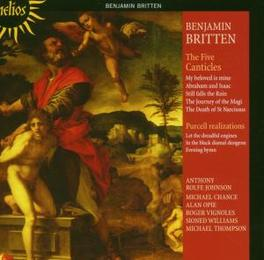 FIVE CANTICLES W/JOHNSON, VIGNOLES, CHANCE, OPIE, WILLIAMS, THOMPSON Audio CD, B. BRITTEN, CD