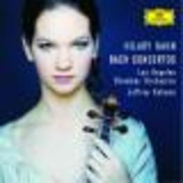 VIOLIN CONCERTOS HILARY HAHN/ LOS ANGELES CHAMBER ORCH./JEFFREY KAHANE Audio CD, J.S. BACH, CD