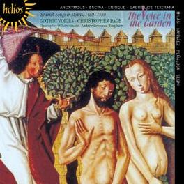 VOICE IN THE GARDEN GOTHIC VOICES/PAGE Audio CD, ENCINA/NARVAEZ, CD