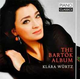 BARTOK ALBUM KLARA WURTZ, CD