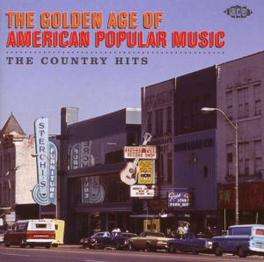 GOLDEN AGE OF AMERI..COUN ..POPULAR MUSIC THE COUNTRY HITS W/J. HORTON/PATSY CLIN Audio CD, V/A, CD