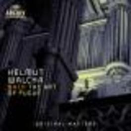 ART OF FUGUE W/HELMUT WACHA Audio CD, J.S. BACH, CD