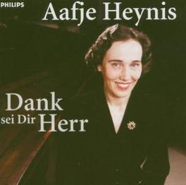 DANK SEI DIR HERR 75TH BIRTHDAY/HANDEL/BACH/SCHUBERT/BRITISH FOLKSONGS Audio CD, AAFJE HEYNIS, CD