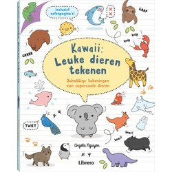 Kawaii: Leuke dieren tekenen