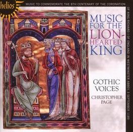 MUSIC FOR THE LION-HEARTE /C.PAGE Audio CD, GOTHIC VOICES, CD