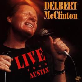 LIVE FROM AUSTIN Audio CD, DELBERT MCCLINTON, CD