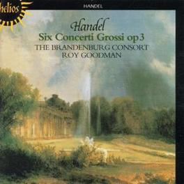 CONCERTI GROSSI OP.3 W/BRANDENNBURG CONSORT, ROY GOODMAN Audio CD, G.F. HANDEL, CD
