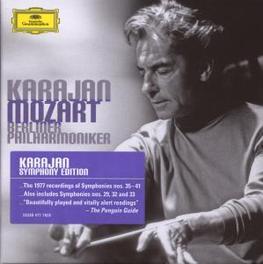 LATE SYMPHONIES BERLINER PHILHARMONIKER/HERBERT VON KARAJAN Audio CD, W.A. MOZART, CD