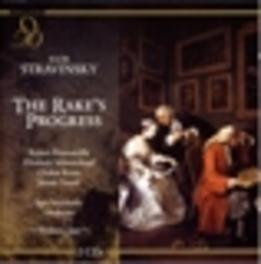 RAKE'S PROGRESS (VENICE.. ROUNSEVILLE/SCHWARZKOPF/KRAUS Audio CD, I. STRAVINSKY, CD