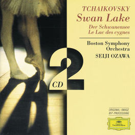 SWAN LAKE -COMPLETE- W/BOSTON SYM.ORCH., SEIJI OZAWA Audio CD, P.I. TCHAIKOVSKY, CD