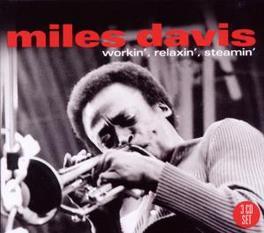 WORKIN' RELAXIN' STEAMIN' .. STEAMIN' Audio CD, MILES DAVIS, CD