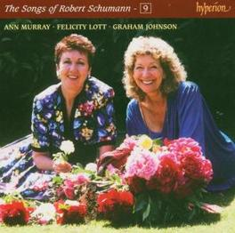 COMPLETE SONGS 9 W/FELICITY LOTT/ANN WURRAY/A.O. Audio CD, R. SCHUMANN, CD