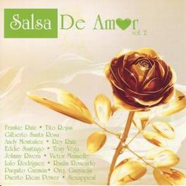 SALSA DE AMOR 2 -15TR- W/FRANKIE RUIZ/TITO ROJAS/GILBERTO SANTA ROSA/A.O. Audio CD, V/A, CD