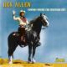 COWBOY UNDER THE.. .. WESTERN SKY Audio CD, REX ALLEN, CD