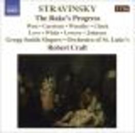 RAKE'S PROGRESS ORCHESTRA OF ST.LUKE'S/CRAFT Audio CD, I. STRAVINSKY, CD