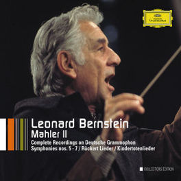 SYMPHONIES NO.5-7/KINDERT /LEONARD BERNSTEIN Audio CD, G. MAHLER, CD
