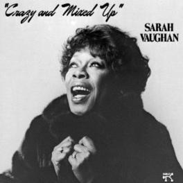CRAZY AND MIXED UP Audio CD, SARAH VAUGHAN, CD
