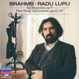 PIANO MUSIC RADU LUPU Audio CD, J. BRAHMS, CD