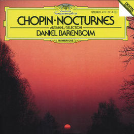 13 NOCTURNES BARENBOIM, DANIEL Audio CD, F. CHOPIN, CD