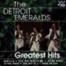 GREATEST HITS Audio CD, DETROIT EMERALDS, CD