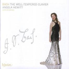 WELL TEMPERED CLAVIER ANGELA HEWITT Audio CD, J.S. BACH, CD