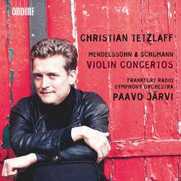VIOLIN CONCERTOS FRANKFURT RSO/JARVI//WORKS BY SCHUMANN/MENDELSSOHN.. TETZLAFF, CD