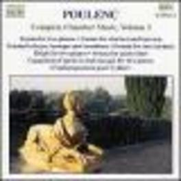 COMPLETE CHAMBER MUSIC 3 W/ALEXANDRE THARAUD, FRANCOIS CHAPLIN-PIANO, RONALD VAN F. POULENC, CD