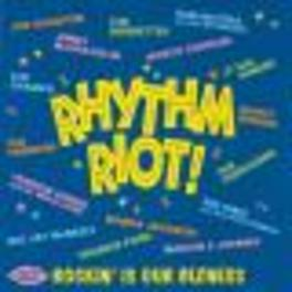 RHYTHM RIOT 25 TR. TRETRENIERS, JIMMY MCCRACKLIN, WANDA JACKSON, Audio CD, V/A, CD