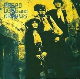BREAD LOVE AND DREAMS FLOWER POWER FOLK FROM 1969 (DECCA) BREAD, LOVE & DREAMS, CD