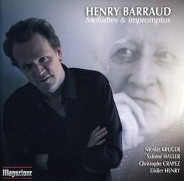 MELODIES & IMPROMPTUS NICOLAS KRUGER/SALOME HALLER H. BARRAUD, CD