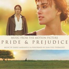 PRIDE & PREJUDICE BY DARIO MARIANELLI/PERFORMED BY JEAN-YVES THIBAUDET Audio CD, OST, CD