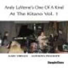 AT THE KITANO V.1 Audio CD, ANDY LAVERNE, CD