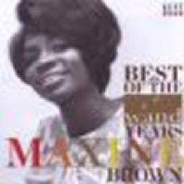 BEST OF THE WAND YEARS Audio CD, MAXINE BROWN, CD