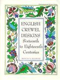 English Crewel Designs 16th...