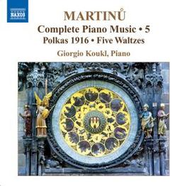 PIANO MUSIC VOL.5 W/KOUKL Audio CD, B. MARTINU, CD