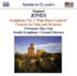 SYMPHONY NO.3/TUBA.. .. CONCERTO//SEATTLE S.O./OLKA Audio CD, S. JONES, CD